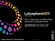 BP212 Deep Dive into IBM XPage Expression ... - Mindoo GmbH