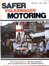 Download Feb 1983 VW T25 / T3 RHD Westfalia Continental Earls ...