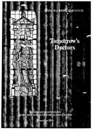 Tomorrow's Doctors (1993) - General Medical Council
