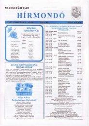 2008. május - Nyergesújfalu