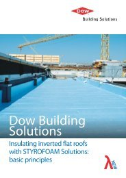Insulating Inverted Flat Roofs with STYROFOAM - Dow Building ...