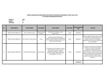 bidang - Sistem e-Warga - Universiti Kebangsaan Malaysia