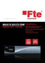 MAX S302 CISM - FTE Maximal
