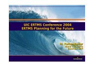 ETCS planning for the future - UIC