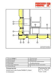 FischerTHERM TL 12.2006.pdf - Fischer Profil | Elemente fürs Bauen