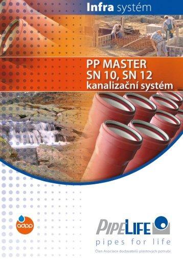 pp master sn10, sn12 - Pipelife Czech, s.r.o.