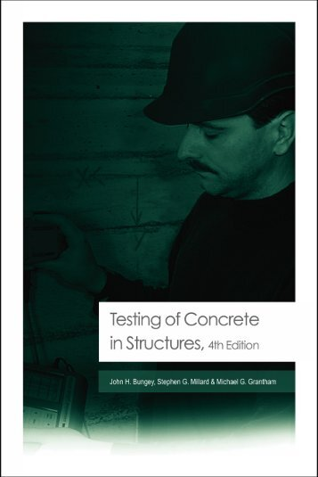 Testing of Concrete in Structures: Fourth Edition