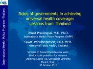 in Thailand - Action for Global Health