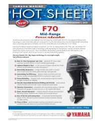 F25-T25 Hot Sheet indd - Yamaha