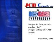 Présentation Générale - JCB Conseils