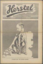 Herstel (1940) nr. 5 - Vakbeweging in de oorlog