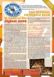 Jigfest 2009 - Jigsaw Puzzles