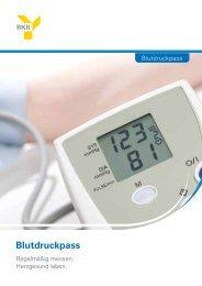 Blutdruckpass