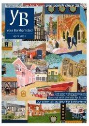 April - St Peter's Church, Berkhamsted, Herts