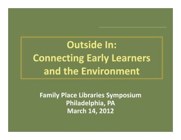 View PowerPoint Presentation Slide - Family Place Libraries