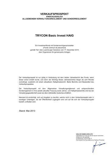 2012-06-18 Final VKP TRYCON Basic Invest HAIG - Hauck ...