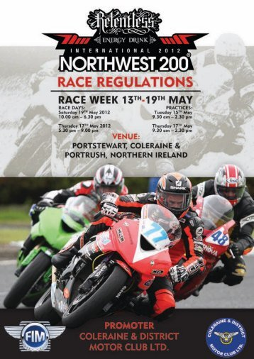 Motorcycle Performance Parts and accessories for ... - North West 200