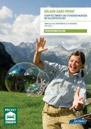Der Katalog 2011 - 2012 - Urlaub in Salzburg