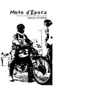 Regolamento Moto d'Epoca 2009 - Giro del Mondo 5 continenti - km ...