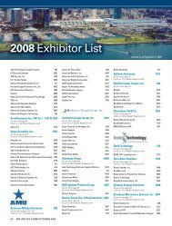 2008 Exhibitor List - Police Chief Magazine