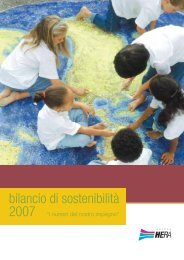 Bilancio di Sostenibilità 2007 - Il Gruppo Hera