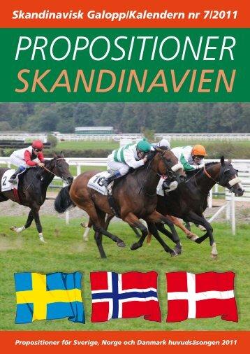 Skandinavisk Galopp/Kalendern nr 7/2011 - Øvrevoll Galoppbane