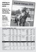 Skandinavisk Galopp/Kalendern nr 7/2011 - Øvrevoll Galoppbane - Page 5