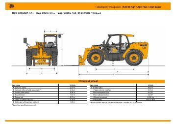 Prospekt JCB 535-95 Agri_Agri Plus_Agri Super - Ramirent