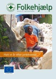 Haiti et år efter jordskælvet - Dansk Folkehjælp