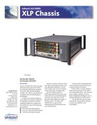 T4167-A01 XLP Chassis 5-02 - TR instruments