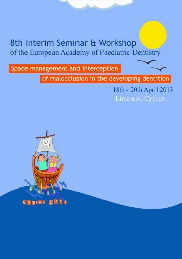 8th Interim Seminar & Workshop - EAPD