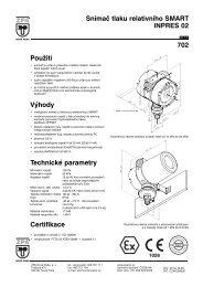Snímač tlaku relativního SMART INPRES 02 702 - MaR TRADE