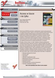 Access w biurze i nie tylko - Structum