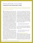Potholes on the Road to College - UChicago Consortium on ... - Page 3