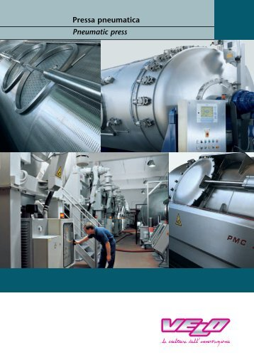 Pressa pneumatica Pneumatic press - Castilla y Campos