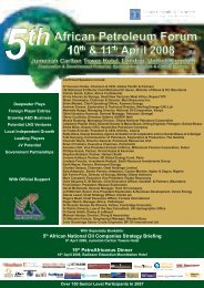 5th African National Oil Companies Strategy ... - Assomineraria