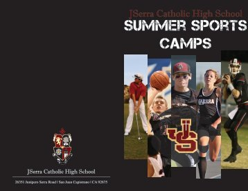 Summer Sports Camps - JSerra Catholic High School