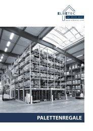 PALETTENREGALE - ELBETEC GmbH & Co. KG
