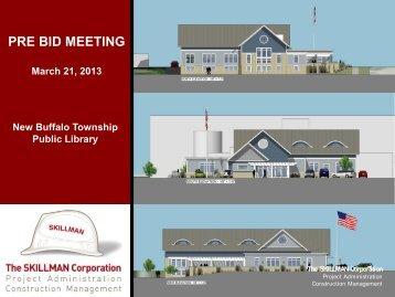 PRE BID MEETING March 21, 2013 - Eastern Engineering Plan Room