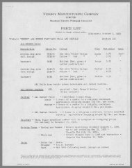 Price List - October 1, 1955 and August 11, 1956 PDF download