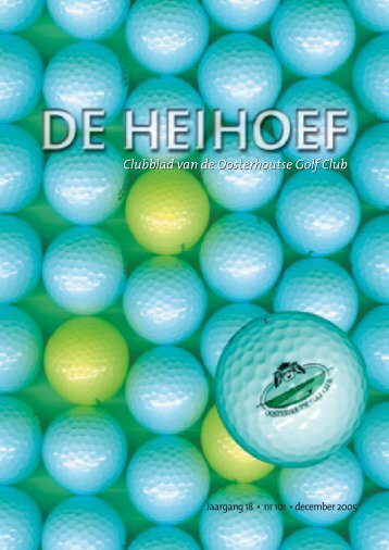 december - Oosterhoutse Golf Club