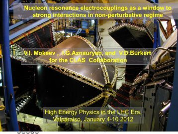 Nucleon resonance electrocouplings as a window to strong ...