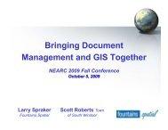 Bringing Document Management and GIS Together - Northeast Arc ...