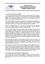 Synthèse de l'étude Analyse des fonctions critiques en ... - Actiris