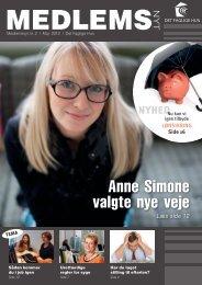 Medlemsnyt 2/2012 - Det Faglige Hus