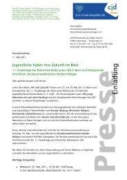 Presseeinladung - CJD