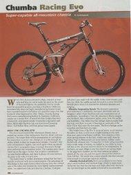November 2006 Mountain Bike Action EVO Review - CHUMBA Racing