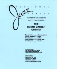 THE BENNY CARTER