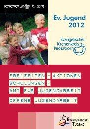 Ev. Jugend 2012 - Evangelische Jugend Paderborn