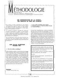 """LA SCIENCE... I"""" QUI EMPECHE DE FAIRE DES SCIENCES"""